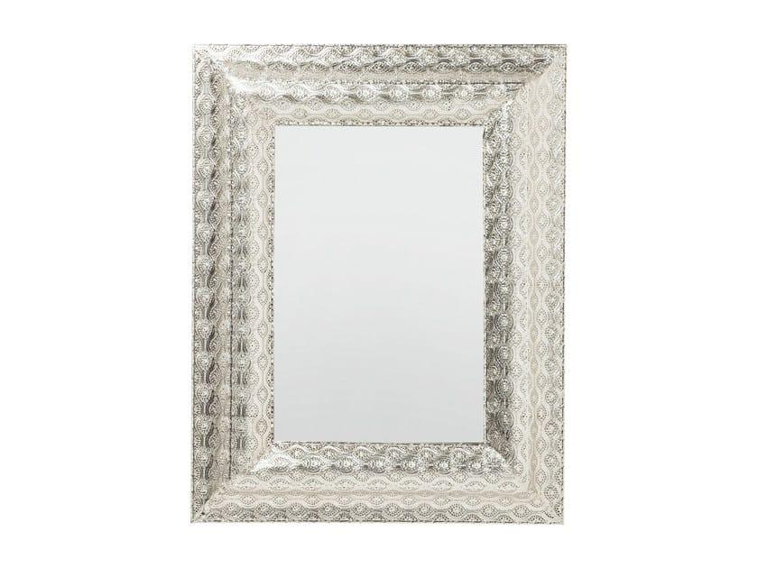 Rechteckiger Spiegel zur Wandmontage mit Rahmen ORIENT 90 x 70 By ...