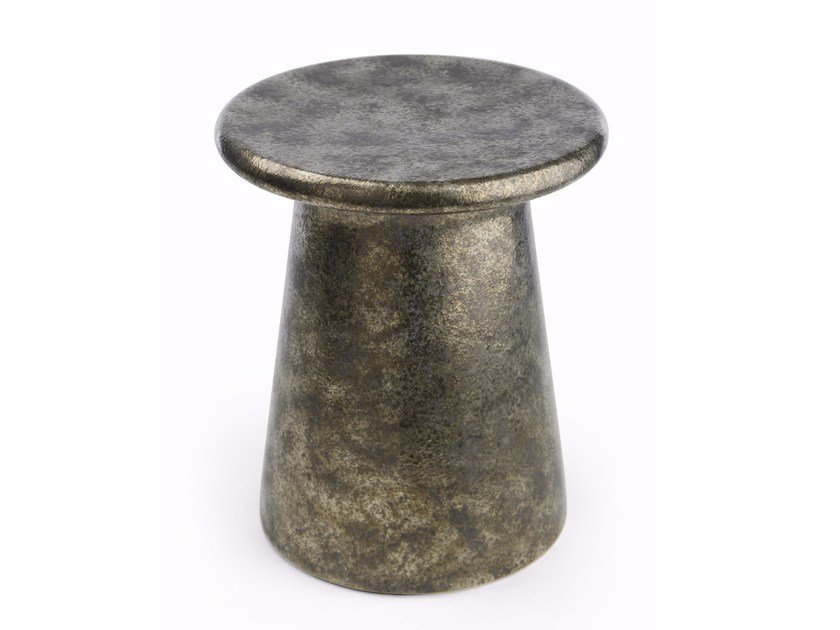 Low ceramic stool ORIENTAL | Stool by MARIONI