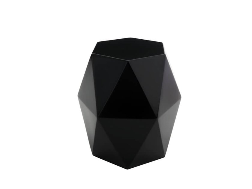 Low glass-fibre stool ORIGAMI by HC28