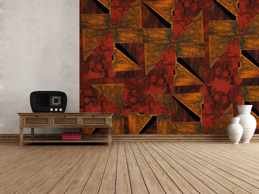 Nonwoven wallpaper ORIGAMI by MyCollection.it