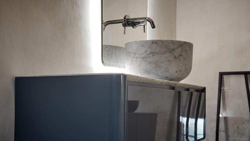 ORIGIN | Lavabo in marmo di Carrara