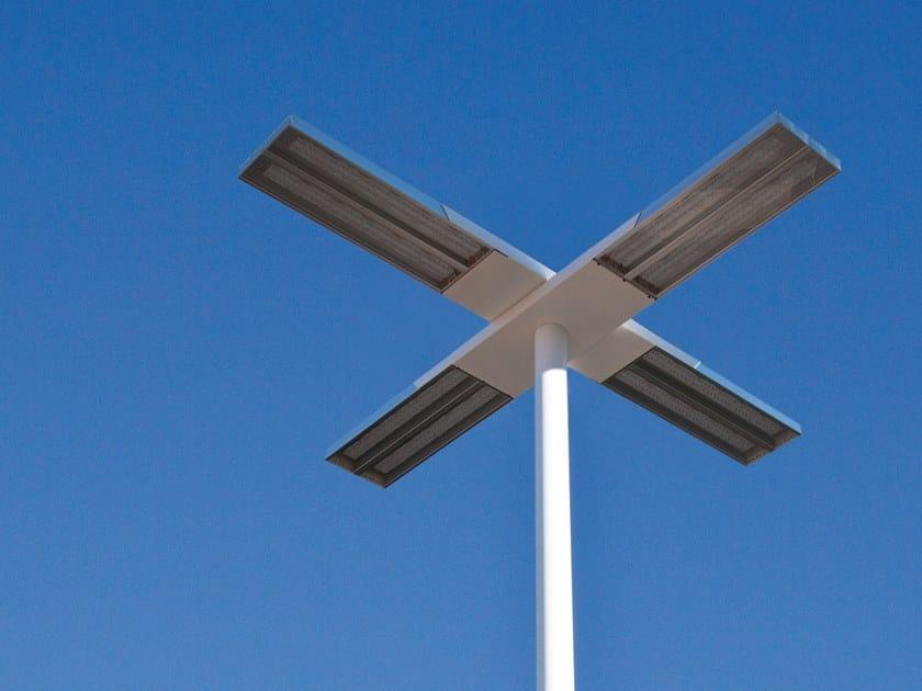 LED Anodized aluminium street lamp ORIOLED by ENGI