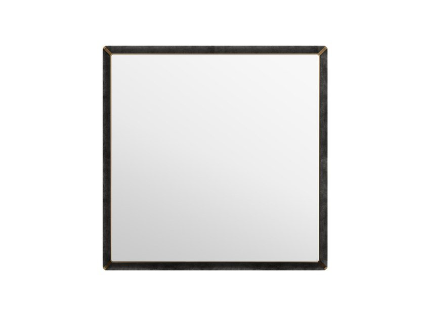 Square wall-mounted framed mirror ORION Q by Capital Collection