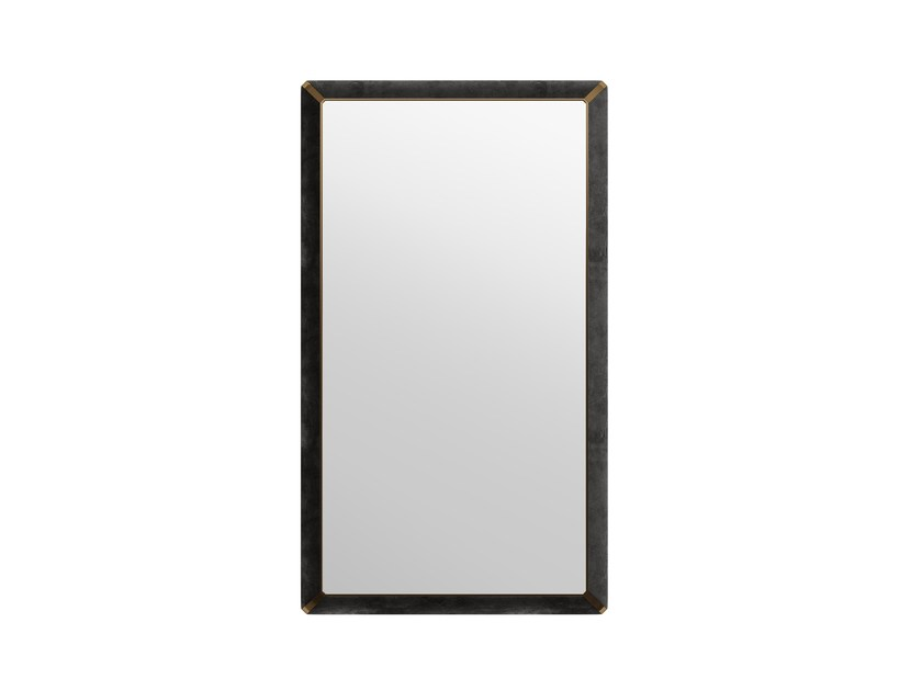 Rectangular wall-mounted framed mirror ORION R by Capital Collection