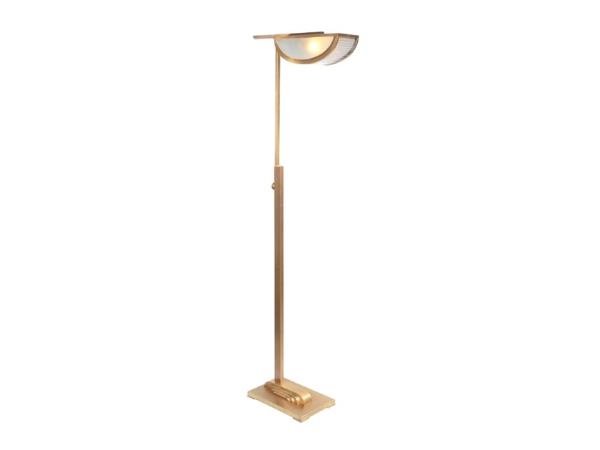 Contemporary style metal floor lamp ORLEANS | Floor lamp by Patinas Lighting