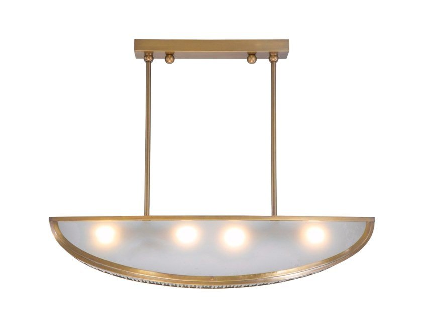 Brass ceiling lamp ORLEANS I. | Ceiling lamp by Patinas Lighting