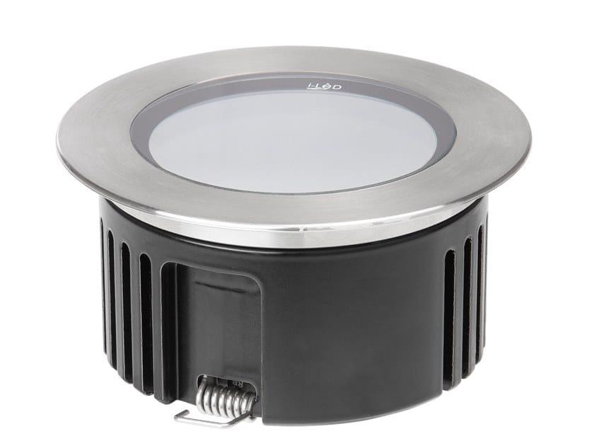 Faretto per esterno a LED in alluminio da incasso ORMA_L by Linea Light Group