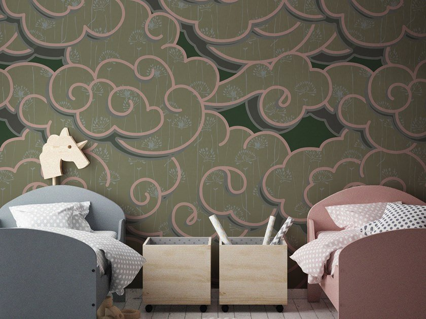 Motif vinyl wallpaper ORN18_009 | Wallpaper by OR.NAMI