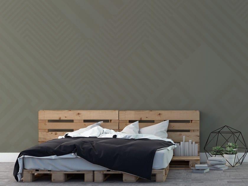 Striped vinyl wallpaper ORN18_011 | Wallpaper by OR.NAMI