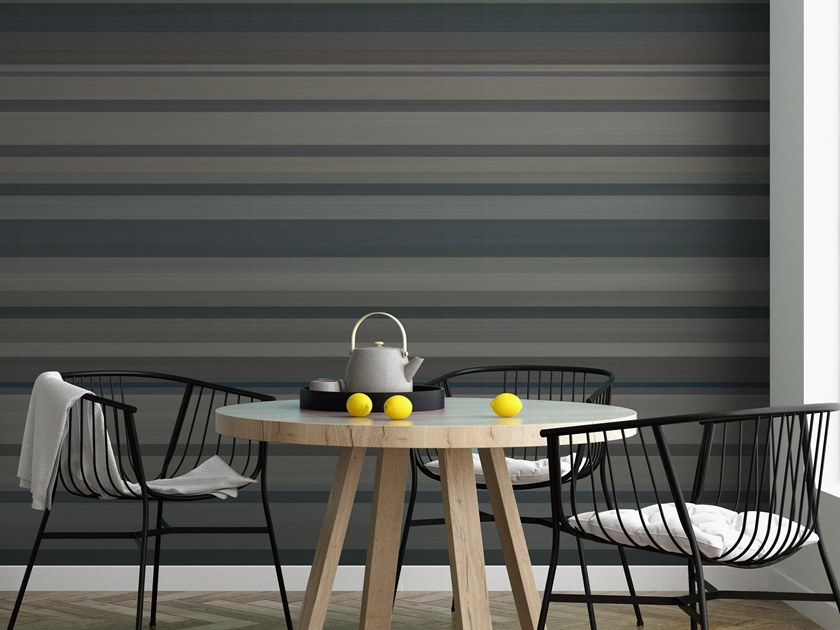 Striped vinyl wallpaper ORN18_012 | Wallpaper by OR.NAMI