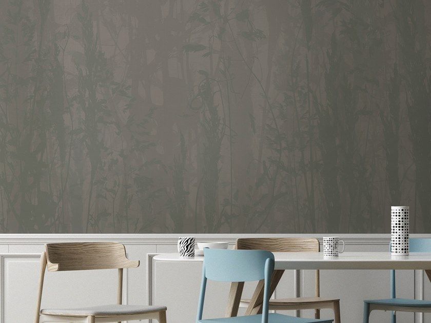 Vinyl wallpaper with floral pattern ORN18_015   Wallpaper by OR.NAMI