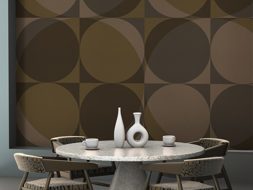 Geometric vinyl wallpaper ORN18_020 | Wallpaper by OR.NAMI