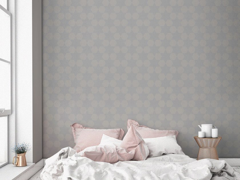 Contemporary style motif synthetic material wallpaper ORN18_032   Wallpaper by OR.NAMI