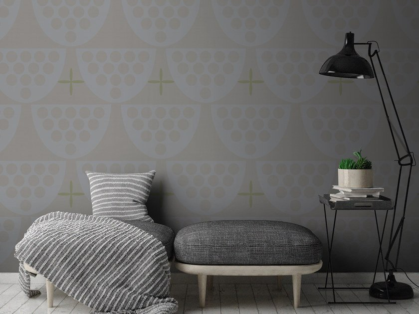 Contemporary style motif synthetic material wallpaper ORN18_035 | Wallpaper by OR.NAMI