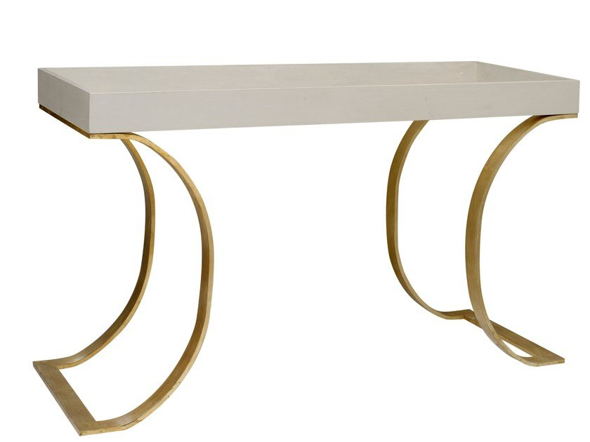 Lacquered rectangular console table ORO | Console table by SOFTHOUSE