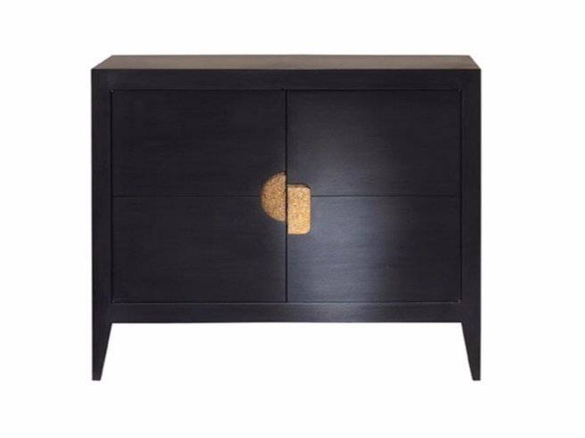 Wooden sideboard with doors ORO by SOFTHOUSE