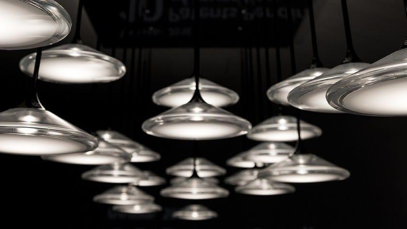 Diretta Luce Orsa Sospensione A Artemide Metacrilato 2135 Led Lampada In srBQdhxotC