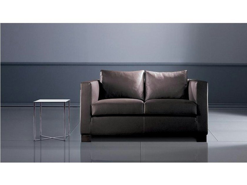 2 Seater Leather Sofa Orson Small By Marac