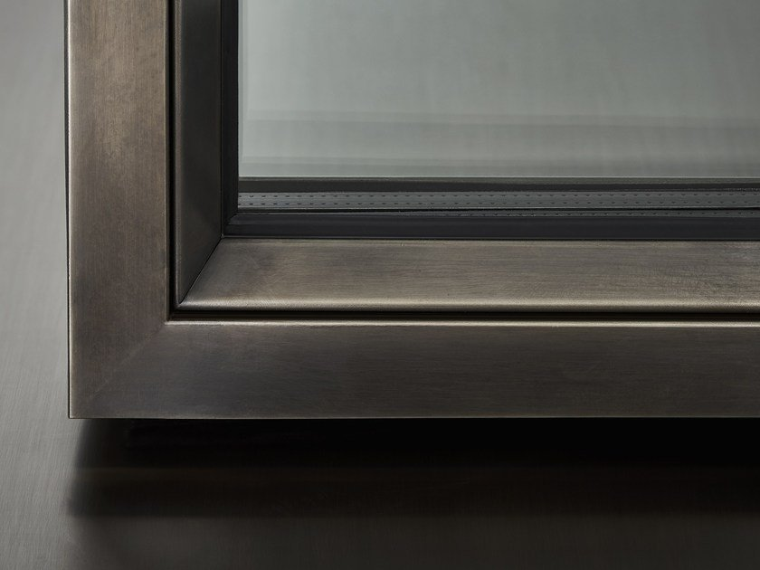 Steel thermal break window OS2 75 by SECCO SISTEMI