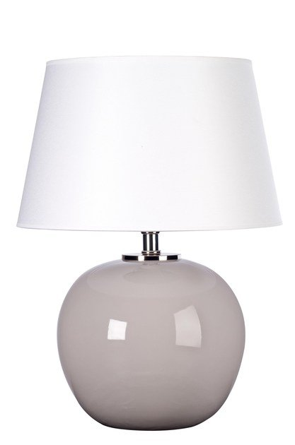 Contemporary style ceramic table lamp OSCAR by ENVY