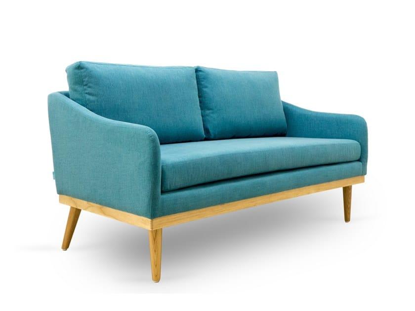 2 seater fabric sofa OSCAR LOVE by meeloa
