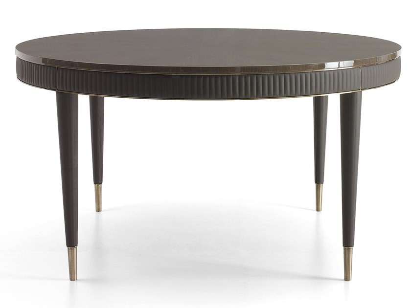 Round wooden table OSCAR | Wooden table by VOLPI