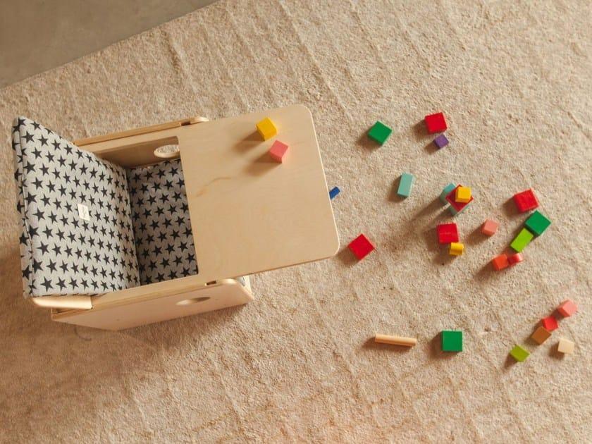 Birch kids chair OSIT + TRAY by nuun kids design