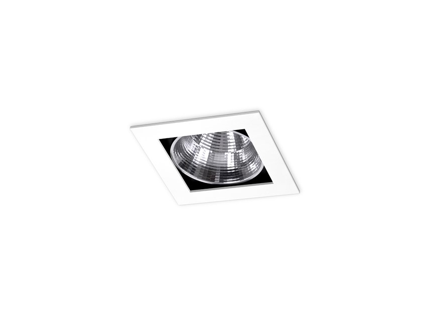 LED square recessed spotlight OSLO by INDELAGUE   ROXO Lighting