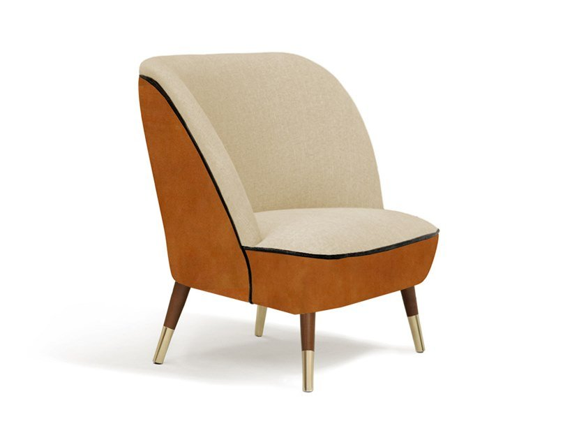 Leather armchair OSLO by Moanne