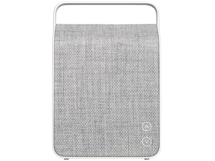 Diffusore acustico Bluetooth portatile OSLO PEBBLE GREY by Vifa