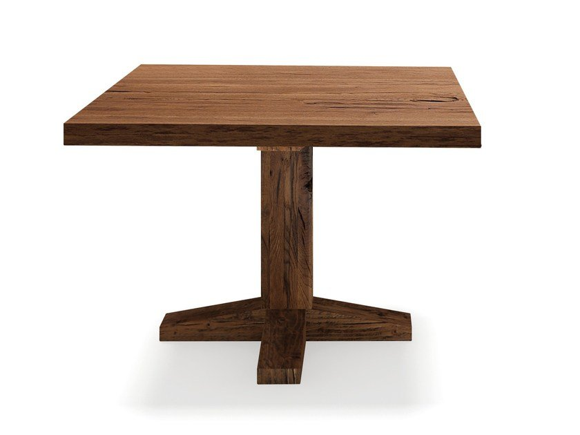 Square solid wood table OSLO | Square table by Oliver B.
