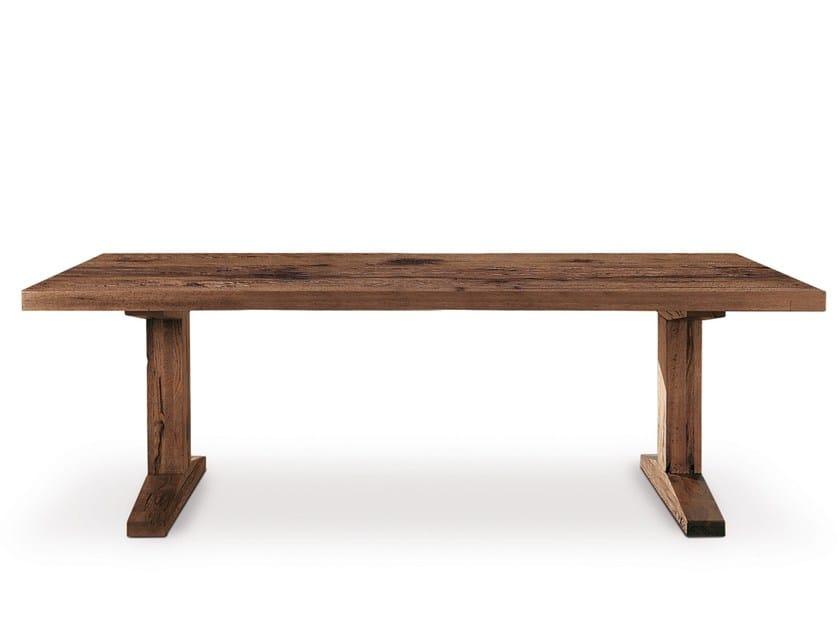 Rectangular oak table OSLO | Rectangular table by Oliver B.