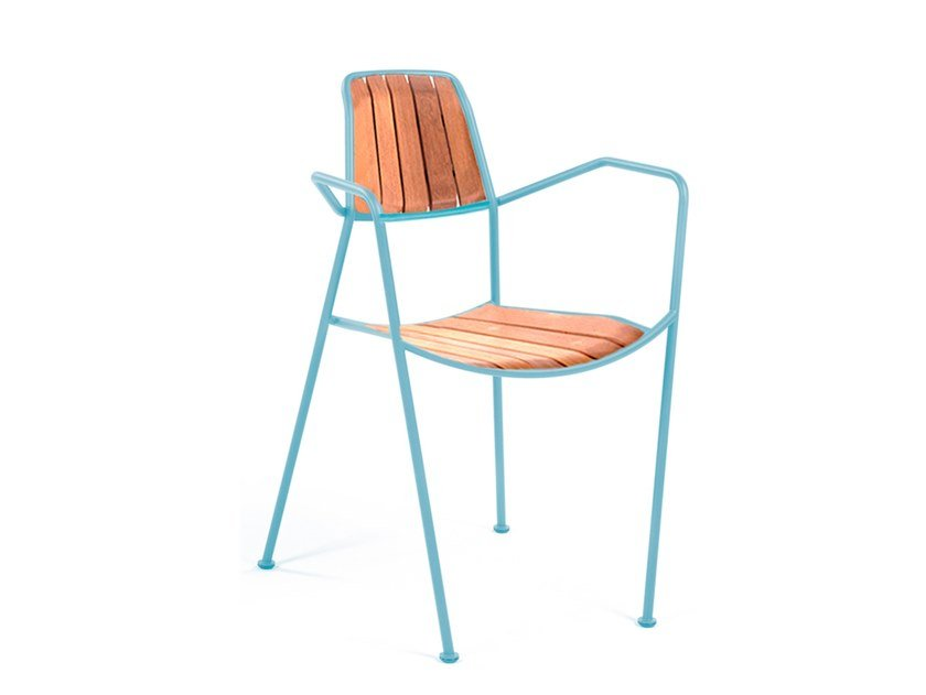 Garden chair with armrests OSMO   Chair by prostoria