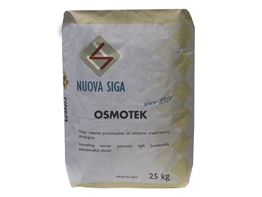 Special fixing for insulation OSMOTEK by Nuova Siga