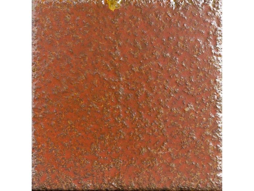 Lava stone wall/floor tiles OSSIDO OSS48 by Made a Mano