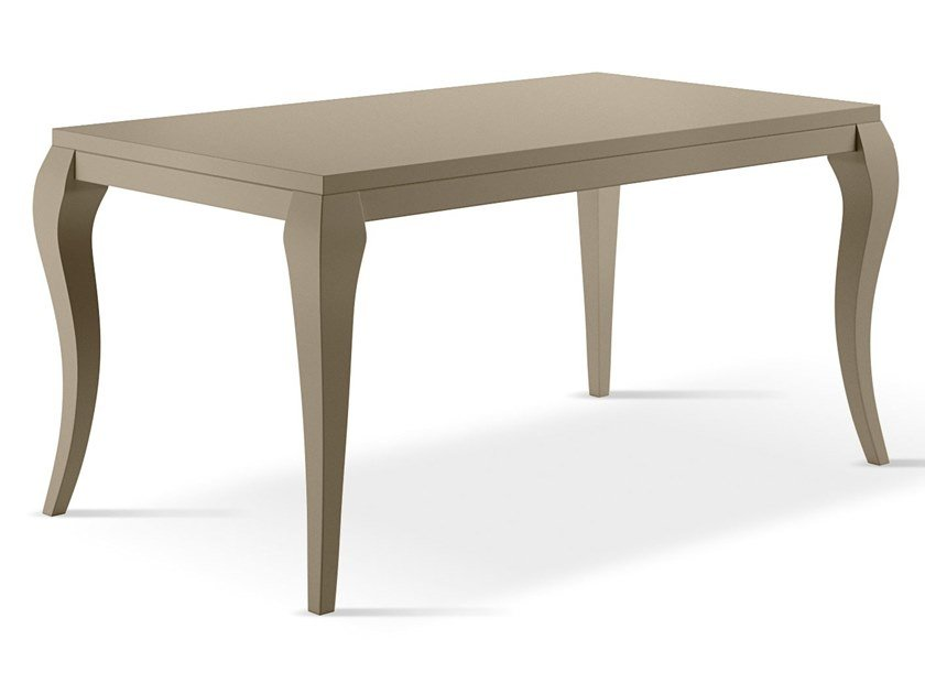 Extending lacquered rectangular wooden table OTELLO by Febal Casa