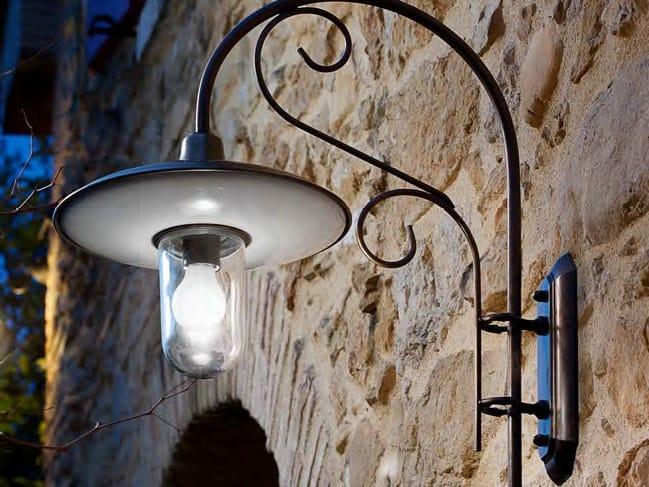 Direct-indirect light metal wall lamp OTELLO | Wall lamp by Aldo Bernardi