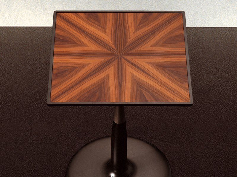 Square wooden coffee table OTI | Wooden coffee table by GIORGETTI