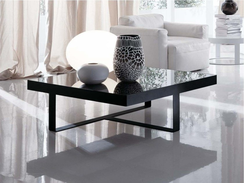 Square metal coffee table OTIS | Square coffee table by Frigerio Salotti