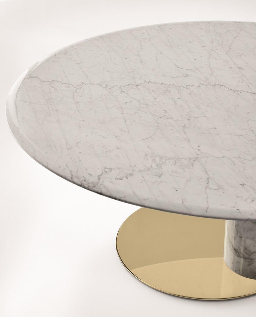 Marmo Tavolo amp;radice Oto Big Gallotti Di In Ovale Carrara kPiZOXu