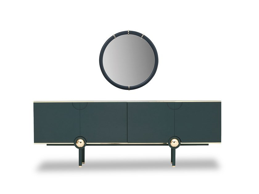 Lacquered sideboard with doors OTTAVIA | Sideboard by Enza Home