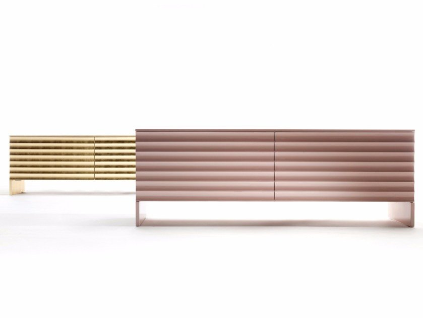 Lacquered sideboard with coplanar doors OTTIMISTA by ERBA ITALIA
