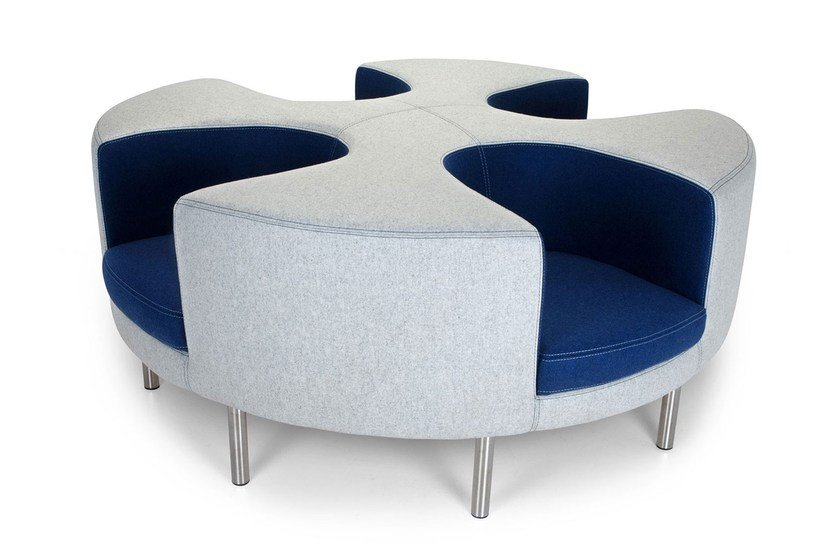 OTTO | 4 seater sofa Otto Collection By Adrenalina design Simone Micheli