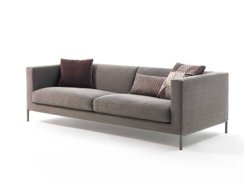 Upholstered 4 seater fabric sofa OTTO | 4 seater sofa by Frigerio Salotti