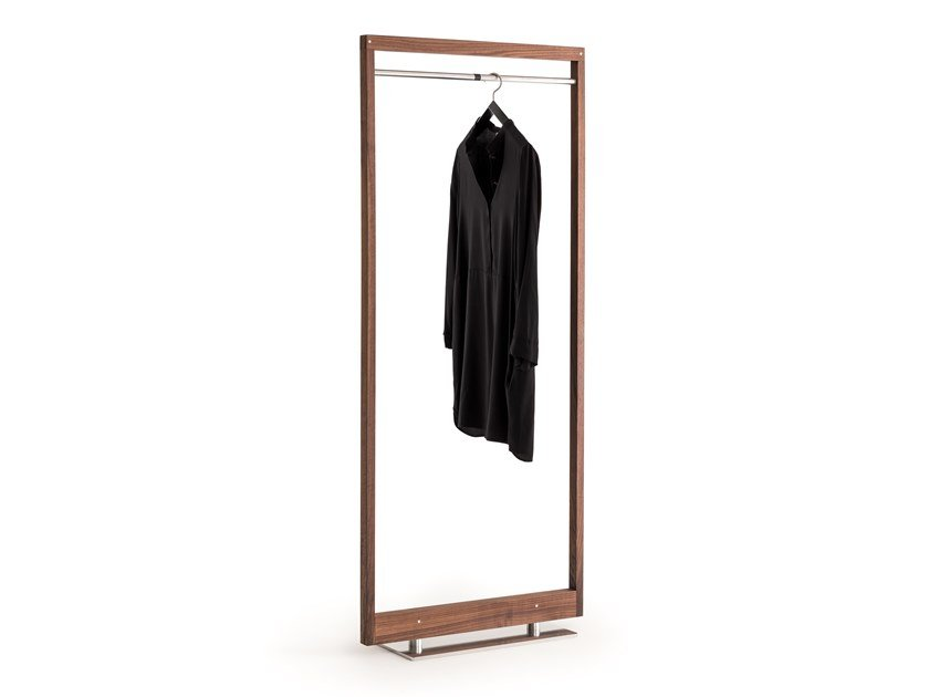 Walnut coat stand OTTO | Coat rack by ManifestoDesign