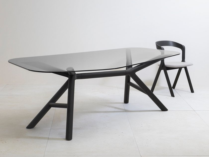 Glass table OTTO | Glass table by Miniforms