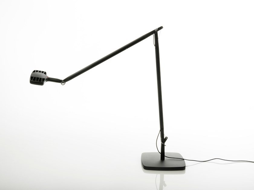 LED adjustable aluminium table lamp OTTO WATT | Table lamp by LUCEPLAN
