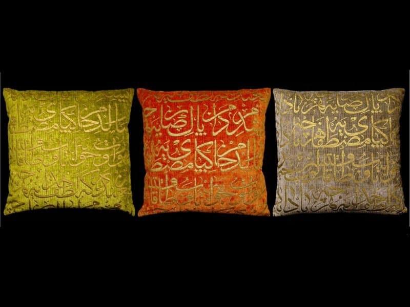 Square velvet cushion OTTOMANO | Square cushion by Venetia Studium