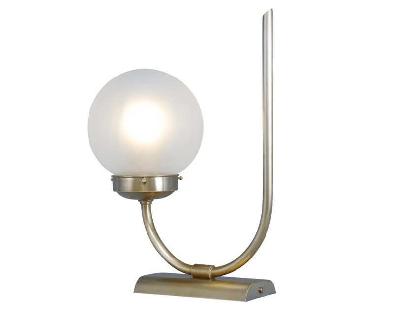 Handmade brass table lamp OTTONE 1   Table lamp by Patinas Lighting