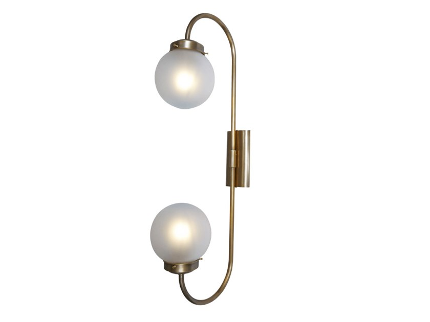 Handmade brass wall lamp OTTONE 2 | Wall lamp by Patinas Lighting